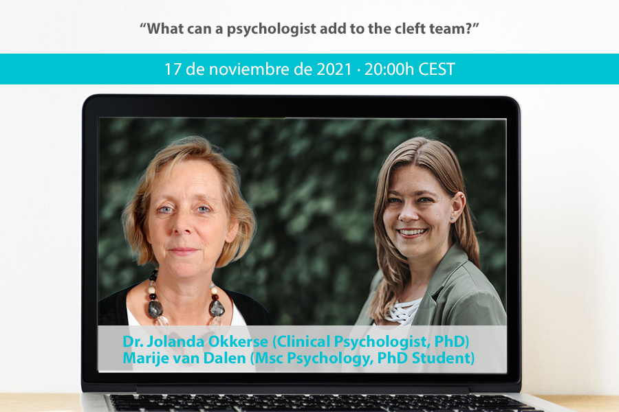 """""""What can a psychologist add to the cleft team?"""" · Dr. Jolanda Okkerse/Marije van Dalen"""
